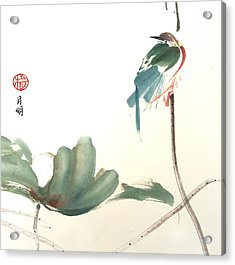 First To Arrive Acrylic Print by Ming Yeung