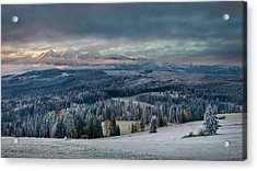 First Touch Of Winter Acrylic Print
