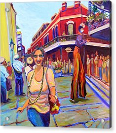 First Trip To New Orleans Acrylic Print