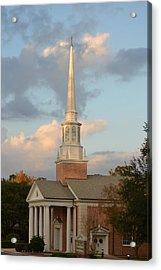 First United Methodist Church Lake City Florida Acrylic Print