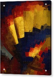 Acrylic Print featuring the digital art First Up by Kirt Tisdale