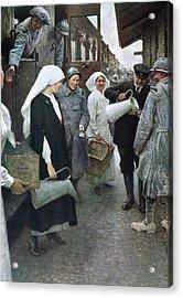 First World War (1914-1918 Acrylic Print