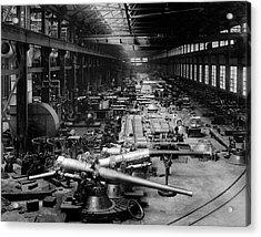 First World War Munitions Factory Acrylic Print