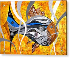 Fish 0465 - Marucii Acrylic Print by Marek Lutek