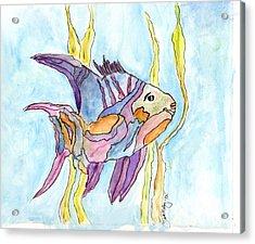 Fish 1 Acrylic Print by Diane Maley