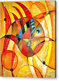 Fish 716-14 Marucii Acrylic Print