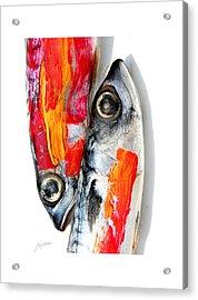 Fish Acrylic Print by Arsen Arsovski