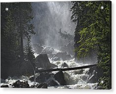 Acrylic Print featuring the photograph Fish Creek Mist by Don Schwartz