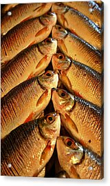 Acrylic Print featuring the photograph Fish For Sale by Henry Kowalski