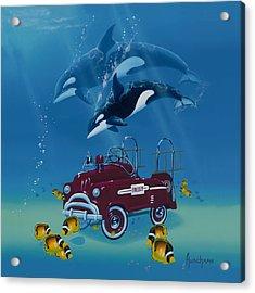 Fish Hook  Ladder Acrylic Print