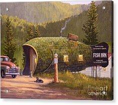 Fish Inn Acrylic Print