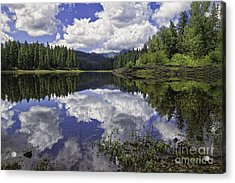 Fish Lake Acrylic Print