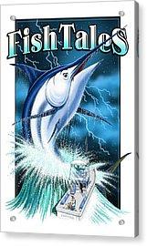 Fish Tales Acrylic Print
