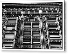 Fisher Building - 10.11.09_028 Acrylic Print by Paul Hasara