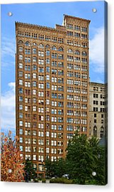 Fisher Building - A Neo-gothic Chicago Landmark Acrylic Print by Christine Till