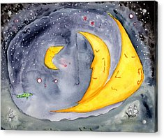 Fisher Moon Acrylic Print