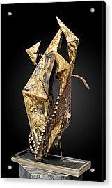 Fisher Of Men Acrylic Print by GK Brock