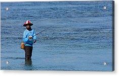 Fisherman - Bali Acrylic Print