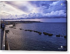 Fisherman - Sicily Acrylic Print by Madeline Ellis