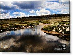 Fishermans Creek Acrylic Print