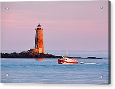 Fisherman's Delight Acrylic Print by Eric Gendron