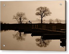 Acrylic Print featuring the photograph Fisherman's Friend by John Jacquemain