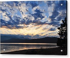 Acrylic Print featuring the photograph Fisherman's Heaven by Jan Davies