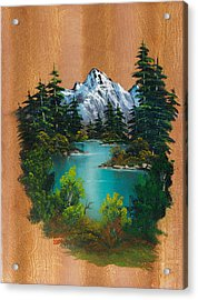 Angler's Fantasy Acrylic Print by C Steele