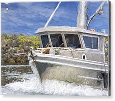 Fisherman's Prayer - West Coast Art Acrylic Print