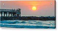 Fisherman's Sunrise Acrylic Print