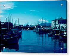 Fisherman's Wharf 1955 Acrylic Print by Cumberland Warden