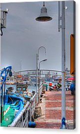 Fisherman's Wharf Taiwan Acrylic Print