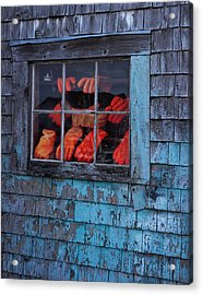 Fishermen's Hands Acrylic Print