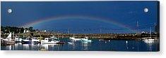 Fishermen's Rainbow Acrylic Print