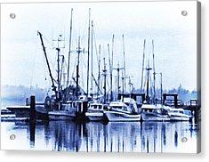 Fishers' Wharf Acrylic Print