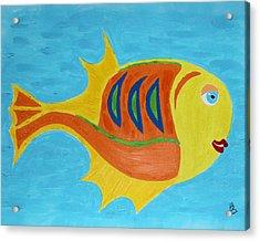 Fishie Acrylic Print