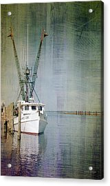 Fishing Boat In Chincoteague Acrylic Print