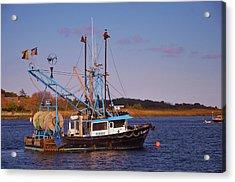 Fishing Boat Newburyport Acrylic Print