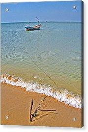 Fishing Boat. Phu Quoc. Vietnam. Acrylic Print