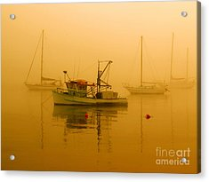 Acrylic Print featuring the photograph Fishing Boat by Trena Mara