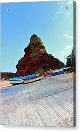 Fishing Boats Acrylic Print by Theresa Selley