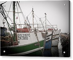 Fishing Boats Acrylic Print by Tom Hudson