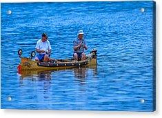Fishing Buddies Acrylic Print