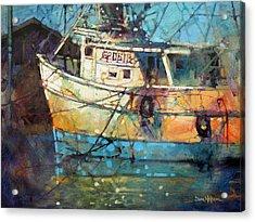 Fishing Colors Acrylic Print