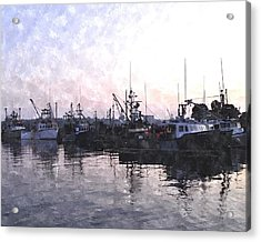 Fishing Fleet Ffwc Acrylic Print by Jim Brage