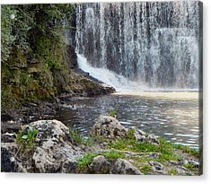 Acrylic Print featuring the photograph Fishing Hole by Deb Halloran