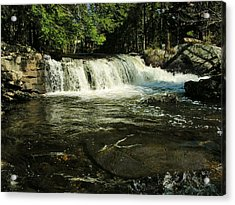 Acrylic Print featuring the photograph Fishing Hole by Sherman Perry