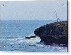 Fishing Acrylic Print by Nur Roy