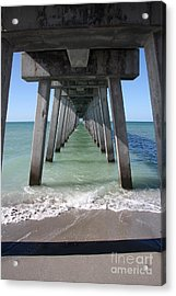 Fishing Pier Architecture Acrylic Print