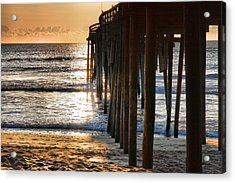 Fishing Pier IIi Acrylic Print by Steven Ainsworth